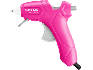 Pistole tavná,25W,pr.7.2mm,růžová(21998)