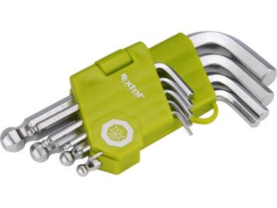 Klíče imbus sada 9ks krátké L1.5-10(27018)