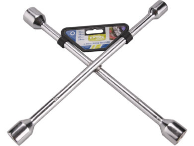 Klíč křížový na kola 17-19-21-23mm(27448)
