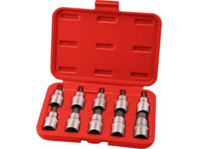 Hlavice zástrč.1/2HEX 3-17mm 10ks(40505)