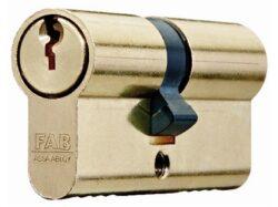FAB vložka 100RSD 29+35 cylindrická 3 klíče                                     -Vložka FAB do dveří  29+35 mm