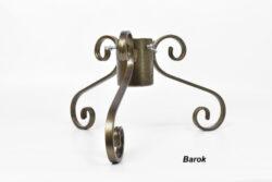 Vánoční stojánek na stromeček BAROK, zlatá antika-Stojánek na stromeček BAROK, zlatá antika