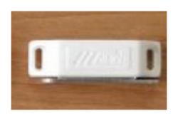 Sklapka magnetická MC 02A bílá-Sklapka magnetická bílá 02A