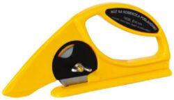 Nůž na koberce lino a podlahoviny-Nůž na podlahoviny kolečkový, plastová rukojeť