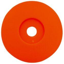 Talířek plastový 40x6mm pod šroub-Talířek plstový 40x6 mm pod šroub
