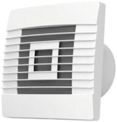 Ventilátor stěn.s žaluz.100mm,čas.d-Ventilátor stěnový axiální s gravitační žaluzií 100 mm