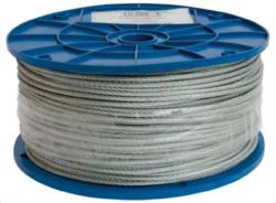 Lanko ocel.pozink.3mmx200m-Ocelové lanko pozinkované 3 mm x 200 m