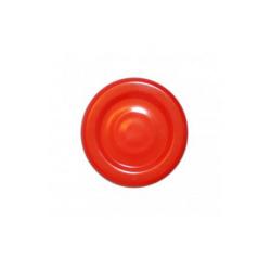 Víčko kovové 43mm, červené-Víčko kovové, červené, pr. 43mm