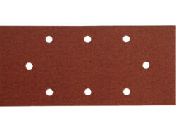 Brusný papír 93x190mm, P120, 10ks-Papír brusný P120, 10ks, suchý zip