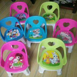 Stolička plast 34x28cm dekor-Plastová židlička pro děti do 3 let