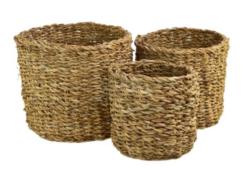 Košík mořská tráva 17x16cm kulatý-Košík mořská tráva 17x16cm, kulatý