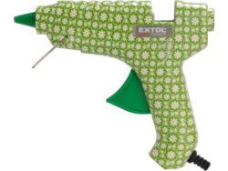 Pistole tavná lepící,40W 11mm květi-Pistole tavná lepící 40W, 11 mm, květinová