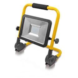 LED reflektor se sklopným stojanom 42 LED 30W-Reflektor LED se sklopným rámem 30W