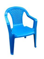 Křeslo dětské modré-Dětské plastové křeslo