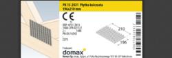 DMX Deska styčníková 196x210x1,5mm