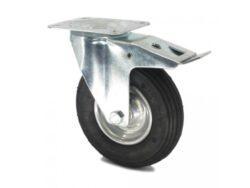 Kolo otočné s B 160 VL 105x80 130kg-Otočné kolečko s brzdou 160