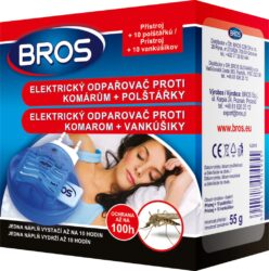 D Bros el.strojek se suchou náplní-Odpařovač proti komárům Bros el. strojek