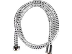 Hadice sprchová 1.5m PVC černo/stří