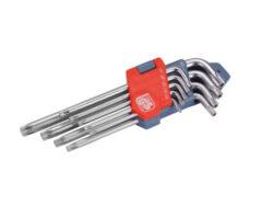 Klíče TORX sada 9ks, 10-50mm-Sada L-klíčů TORX, 9ks, 10-50mm