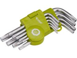 Klíče TORX sada 9ks krátké