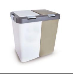 Koš odp.UH DUO 40l-Odpadkový koš Duo DUST 40 l