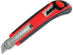 Nůž ulamovací s výztuhou, 18mm-Ulamovací nůž 18 mm