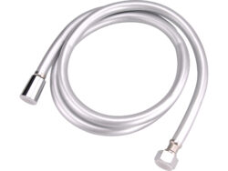 Hadice sprchová 1.5m stříbrná PVC