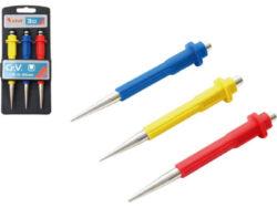 Důlčíky sada 3ks 0.8-1.5-2.5mm