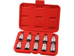 Hlavice zástrč.1/2HEX 3-17mm 10ks