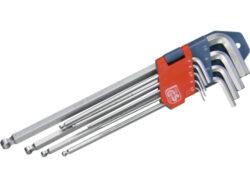 Klíče imbus 1.5x10mm C.V.sada 9d.