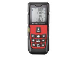 Metr laserový digitální 0,05-40m, červený-Metr laserový digitální 0,05-40m