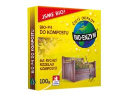 Bio-P4 do kompostu 100g/H3435 - Přípravek Bio - ENZYM - P4 do kompostu 100g