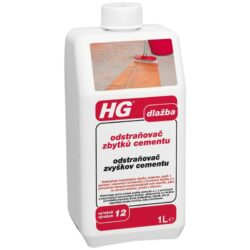 HG Odstraňovač zbytků cementu dlaž.1l-Odstraňovač zbytků cementu z dlažby 1l