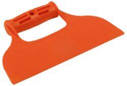 Stěrka plastová hladká-Stěrka plastová rovná bez zubů,  235 mm