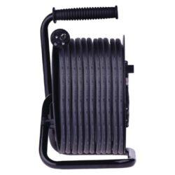 Cívka prodluž. 25m/4z, EMOS, guma-Cívka s gumovým prodlužovacím kabelem - 4 zásuvky, 25m, 2,5mm2
