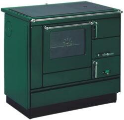 Kamna sporák VSP-9103.7482 zelený-Kamna sporák typ VSP 9103, model 7482, zelený.
