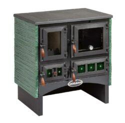 Kamna sporák VSP-9180.70 zelený-Kamna sporák typ VSP 9180.70 Ofélie, zelený