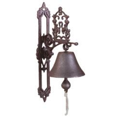 Zvonek litinový u dveří klasický-Zvonek litinový u dveří klasický