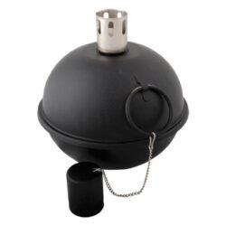 Lampa černá olejová-Lampa olejová, černá