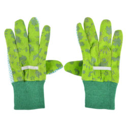 Rukavice pracovní dětské, zahradní, zelený-Rukavice pracovní dětské, zahradní