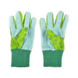 Rukavice pracovní dětské, zahradní, zelený(53647)