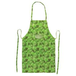 Zástěra dětská, sv. zelený maskáč-Zástěra dětská, maskáčová