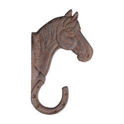 Háček Kůň, litina                                                               -Háček Kůň, litina