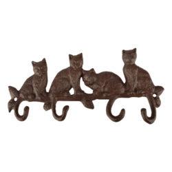 Háčky litinové - Kočičí ocasy-Háčky - Kočičí ocasy, litina