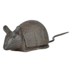 Skrýš na klíče myš litinová-Skrýš na klíče myš, litina