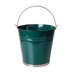 Kyblík zelený plechový 10,5l-Kyblík plechový zelený 10,5l