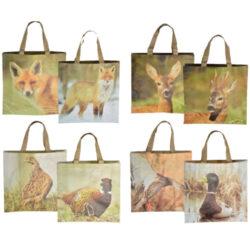 Taška nákupní s lesní zvěří, 4T-Nákupní taška s lesní zvěří