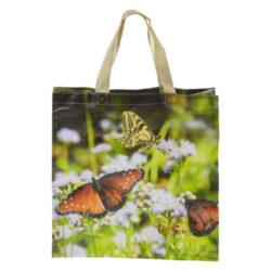 Taška nákupní Motýli-Taška nákupní Motýli, PVC