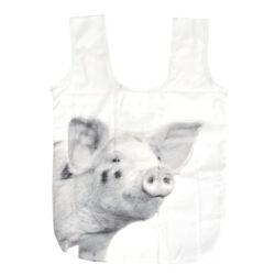 Taška skládací nákupní B+W, famářská zvířata(54498)