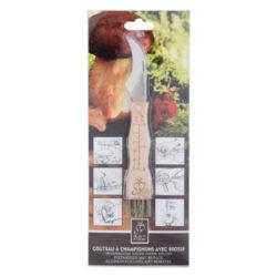 Nožík houbařský se štětečkem(53638)
